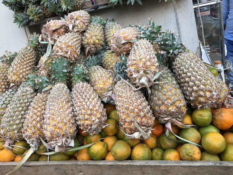 Ananas naturel photos stock