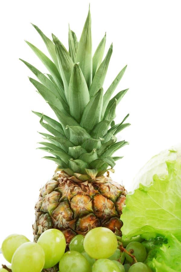 ananas plus royaltyfria bilder