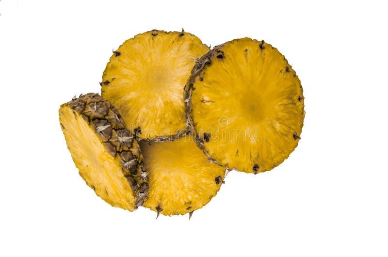 Ananas putréfié photographie stock libre de droits