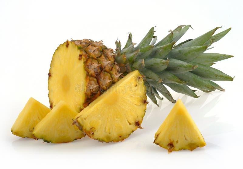 Ananas slices royalty free stock photo