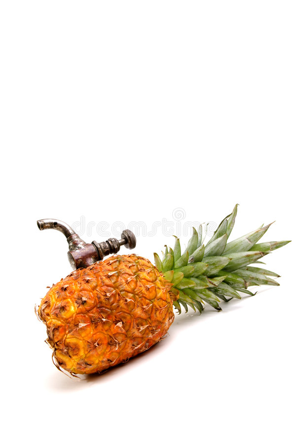Free Ananas With Tap Stock Images - 4607644
