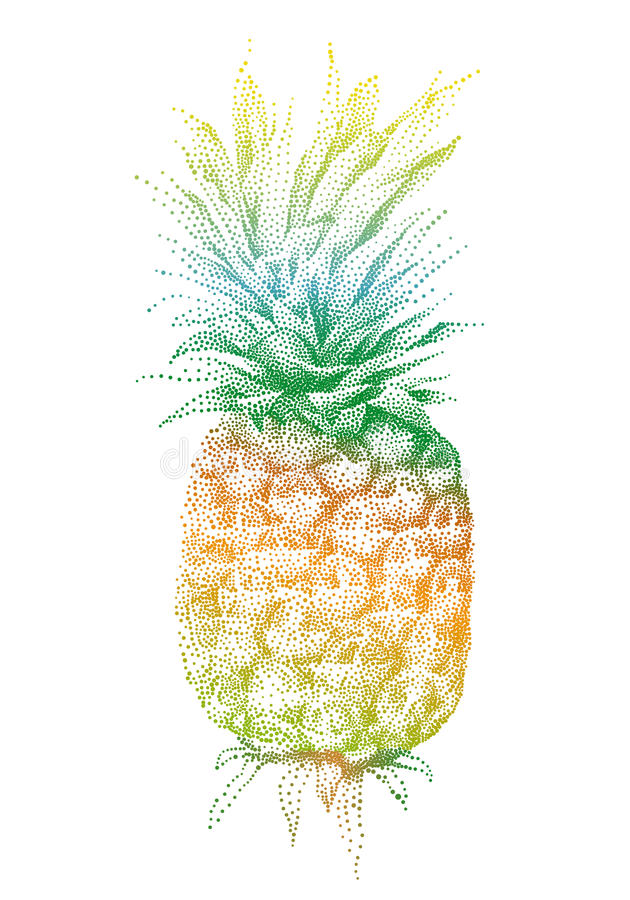 ananasa wektor ilustracja wektor