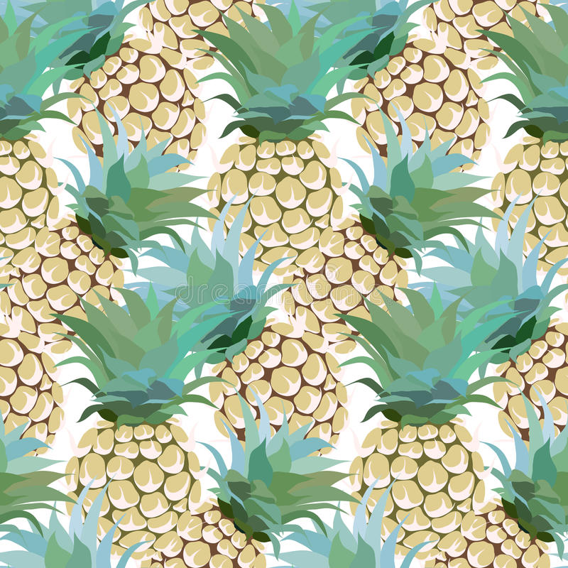 Ananasmuster stock abbildung