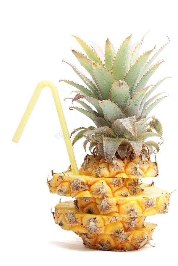ananasowa tubka obraz royalty free