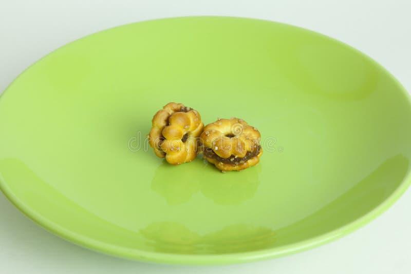 Ananasowi ciastka zdjęcia stock