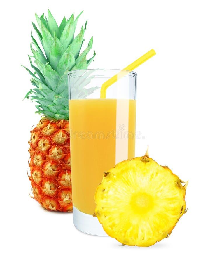 Ananasowy sok fotografia stock