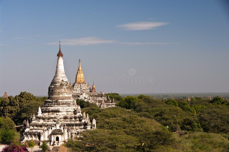 Ananda寺庙, Bagan,缅甸 免版税库存照片