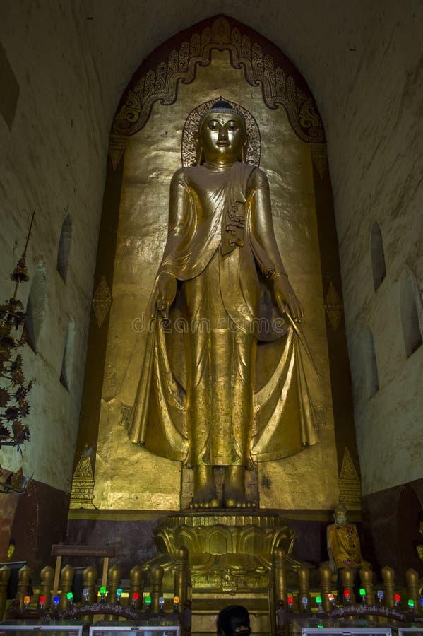Ananda świątynia w bagan Myanmar obrazy stock