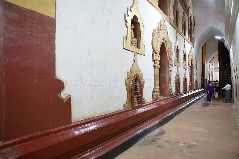 ananda bagan Myanmar świątynia obrazy stock