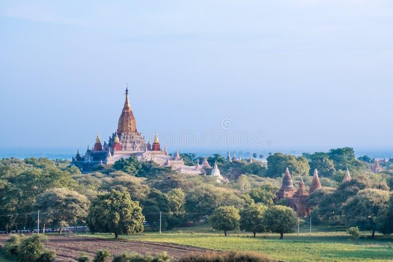 Ananda Pagoda fotografia stock