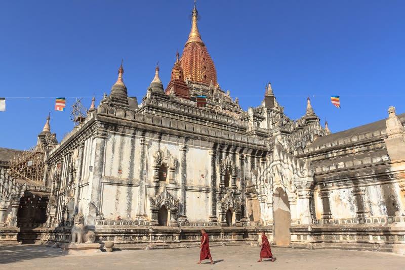 Ananda Pagoda stock foto