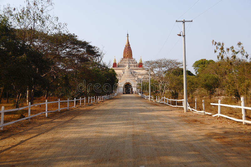 Ananda Pahto em Bagan imagem de stock royalty free