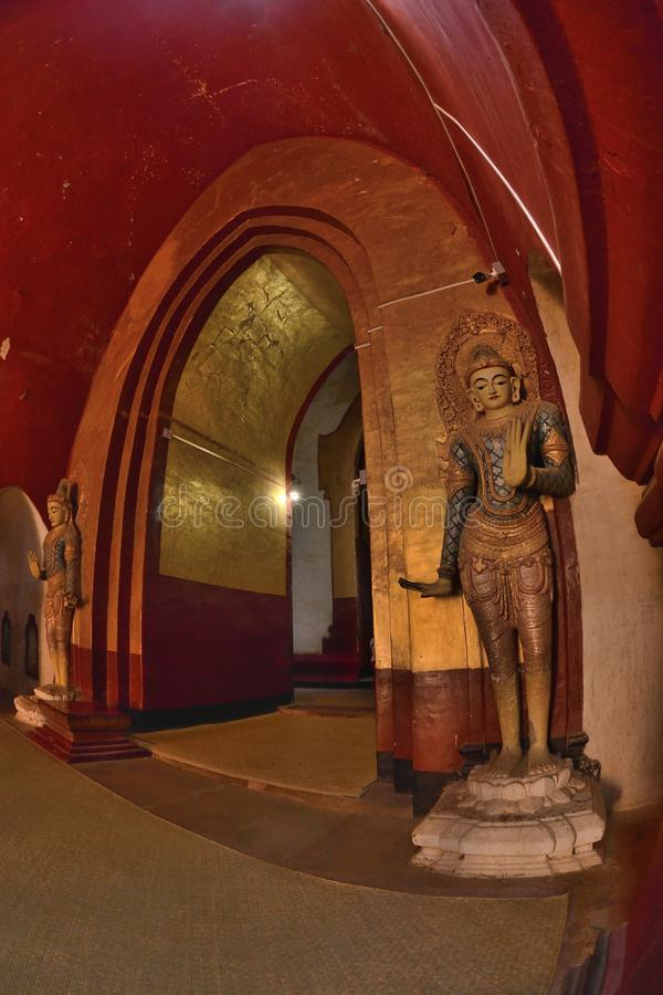 Ananda Phaya Pagoda Myanmar Bagan Buddha royalty free stock photography