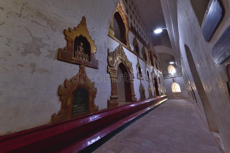 Ananda Phaya Pagoda Myanmar Bagan Buddha stock images