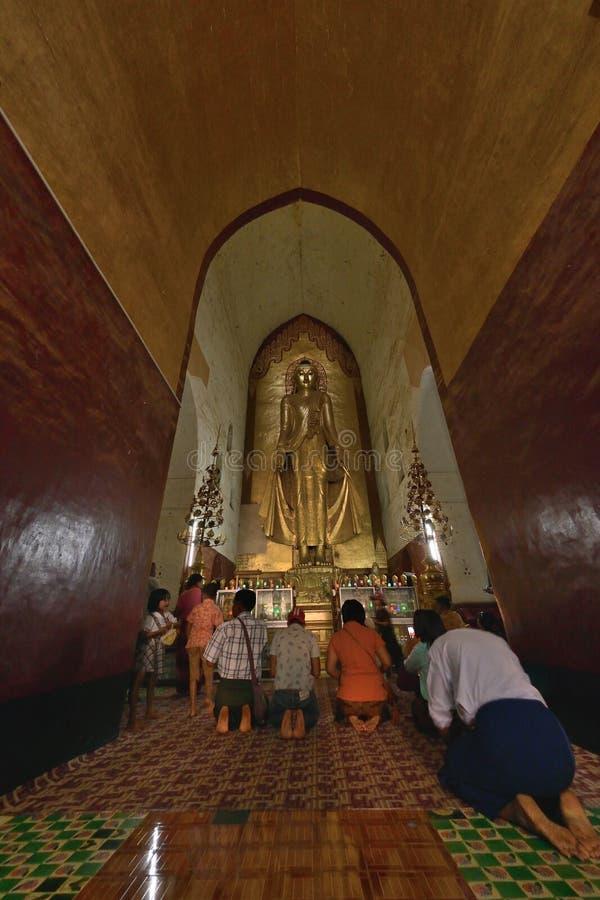 Ananda Phaya Pagoda Myanmar Bagan Buddha royalty free stock photo
