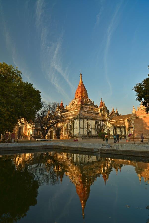 Ananda Phaya.Bagan royalty free stock photo