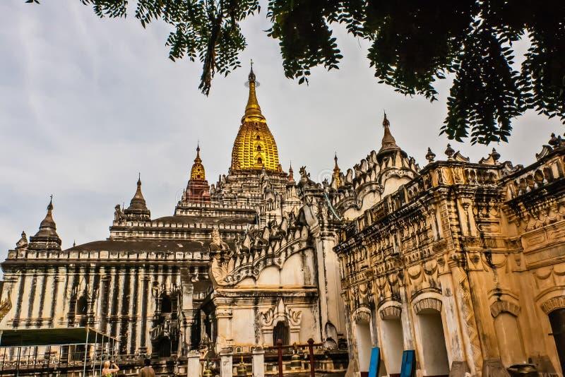 Ananda Temple, altes Bagan, Myanmar lizenzfreie stockfotos