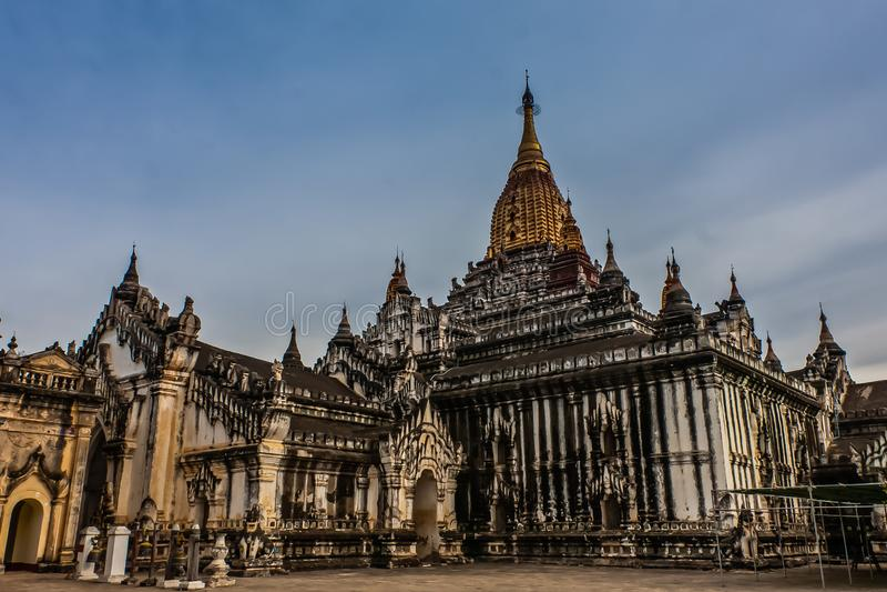 Ananda Temple, altes Bagan, Myanmar lizenzfreies stockfoto
