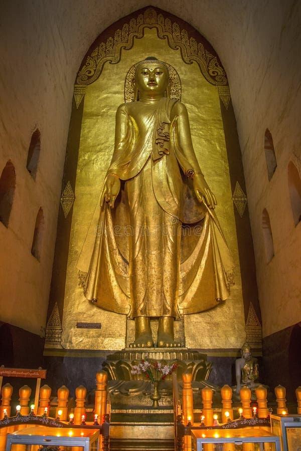 Ananda Temple - Bagan - Myanmar imagens de stock