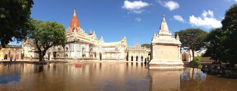 Ananda Temple in Bagan Myanmar stock photography