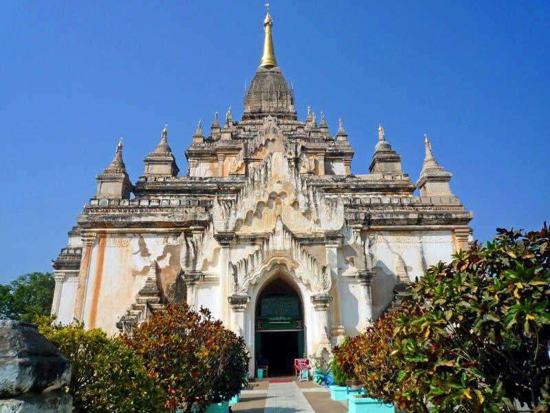 Ananda Temple in Myanmar stock foto's