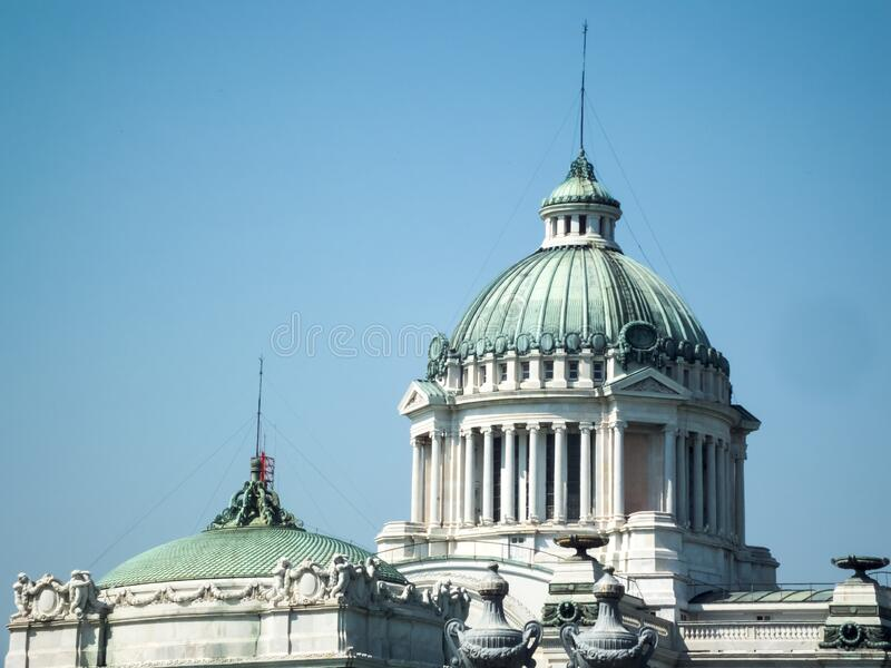 Ananta Samakhom Throne Hall in Dusit Palace, Bangkok, Thailand. Images for commercial user.n stock photo