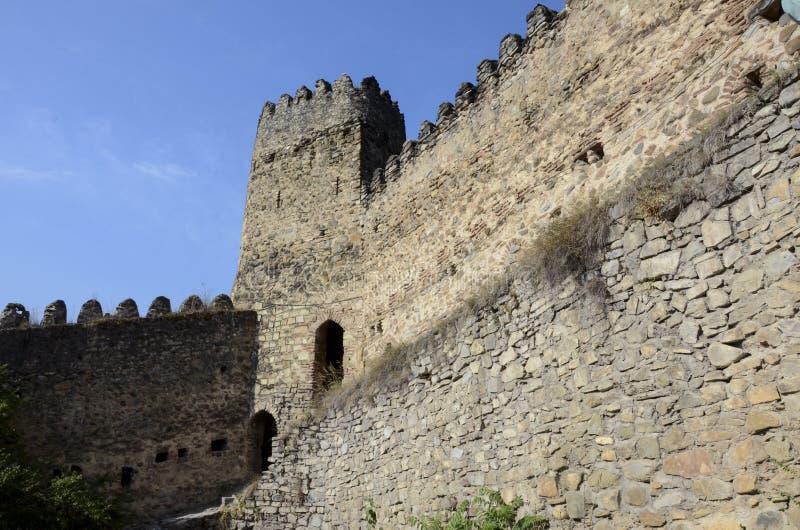 Ananuri fortecy kościół obraz stock