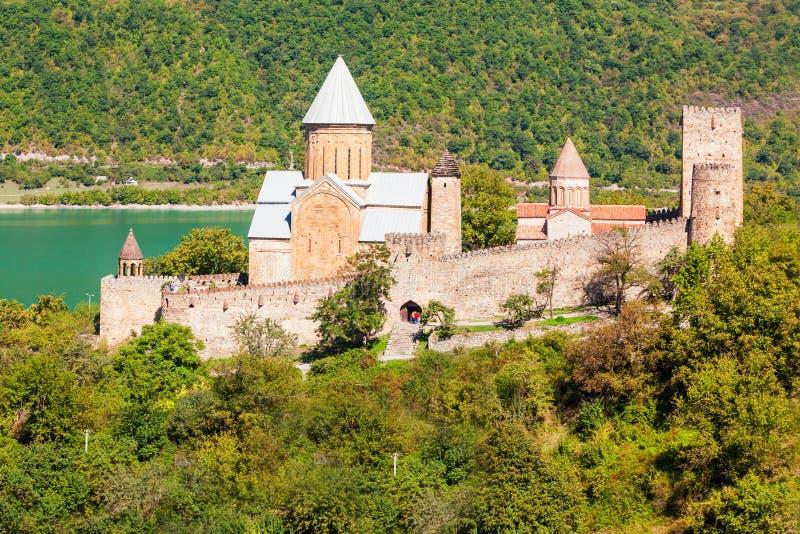 Ananuri Georgia royaltyfria foton