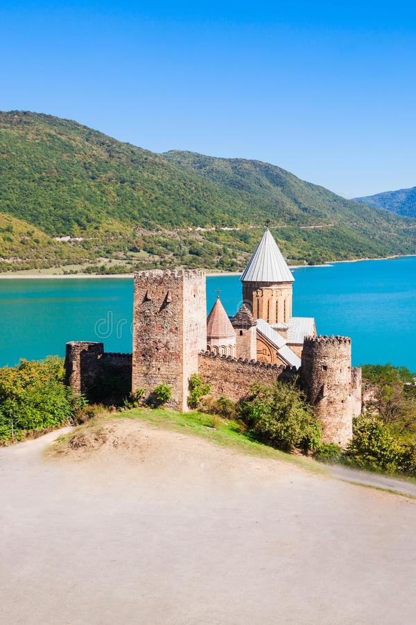 Ananuri, Georgia imagen de archivo libre de regalías