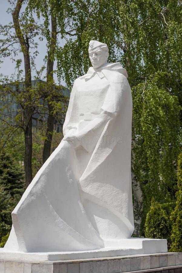 Anapa, Rusia, 9 puede 2018 monumento a los soldados del ej?rcito rojo fotos de archivo