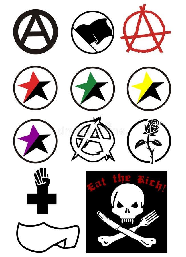 Anarchie illustration libre de droits