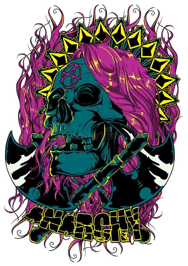 Anarchie illustration stock