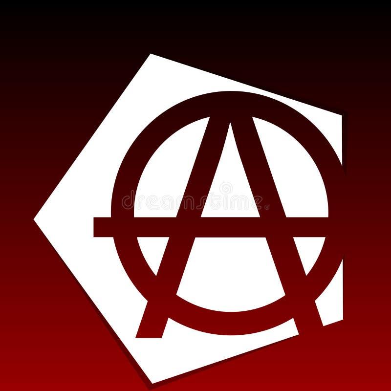 Anarchy Symbol Stock Vector Illustration Of Illustration 42401022