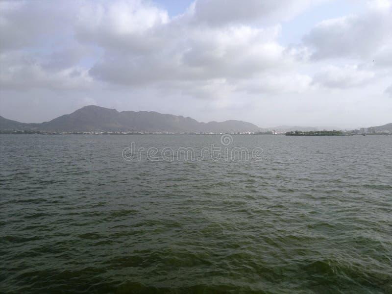 Anasagar jezioro obrazy royalty free