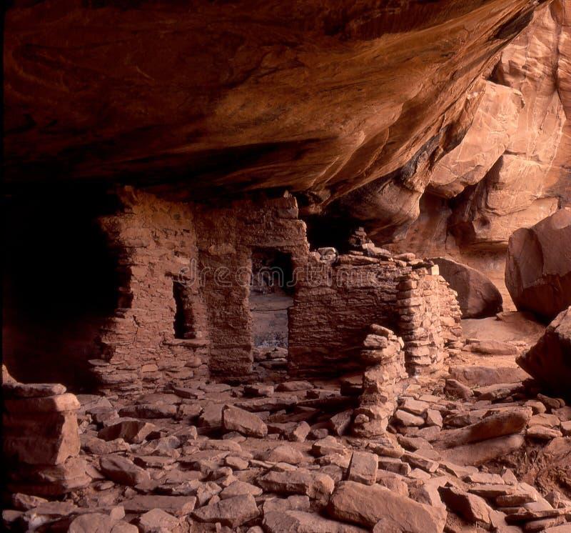 Download Anasazai Ruins stock photo. Image of utah, adobe, alcove - 1555944