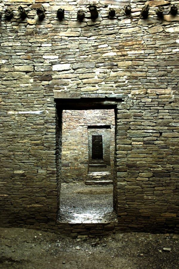 Anasazi Architektur stockbild