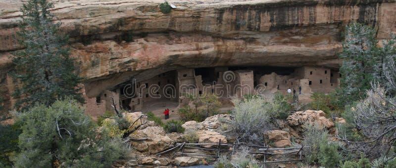 Anasazi Cliff Dwelling. Ancient Anasazi Indian Cliff Dwelling in Colorado royalty free stock photos
