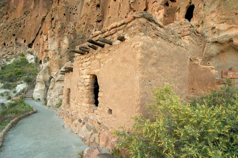 Anasazi Klippenwohnungen stockbilder