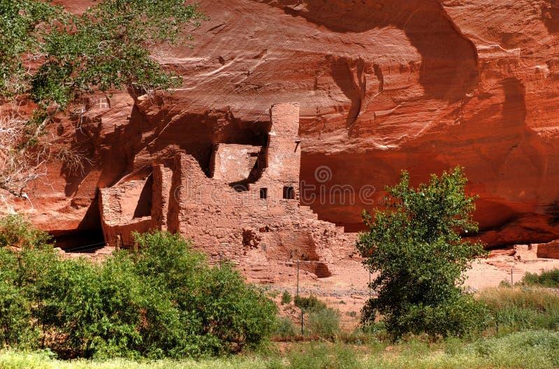 Anasazi Ruinen stockfotografie