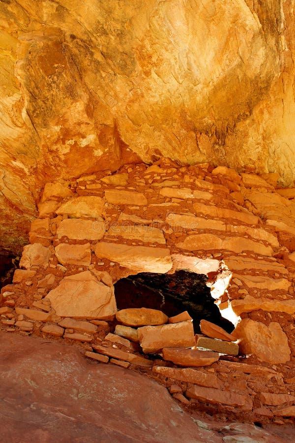 Anasazi Ruinen in Utah. stockbild