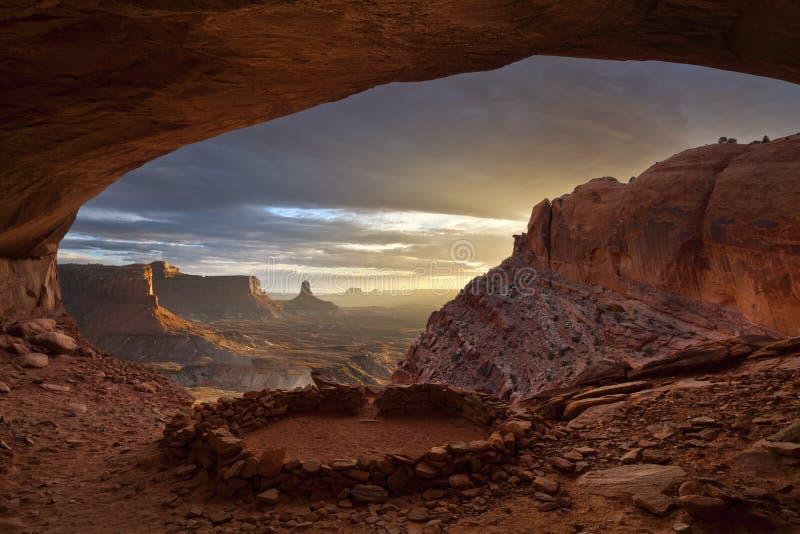 Anasazi ruiny. zdjęcia stock