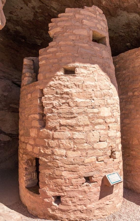 Anasazi tower stock photos