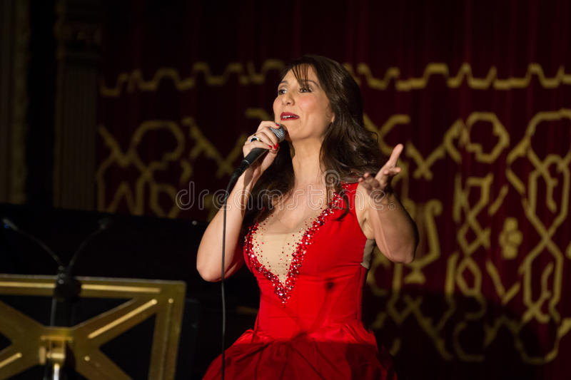 Anastasia Zannis. Born and raised in Athens, soprano Anastasia Zannis studied at the Royal Academy of Music in London , specializing in jazz . Before Academy in stock photography
