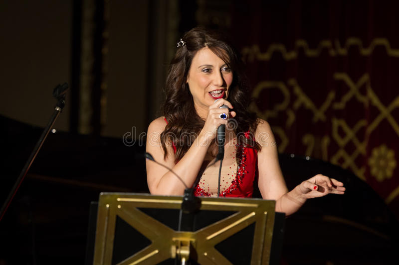 Anastasia Zannis III. Born and raised in Athens, soprano Anastasia Zannis studied at the Royal Academy of Music in London , specializing in jazz . Before Academy royalty free stock photos