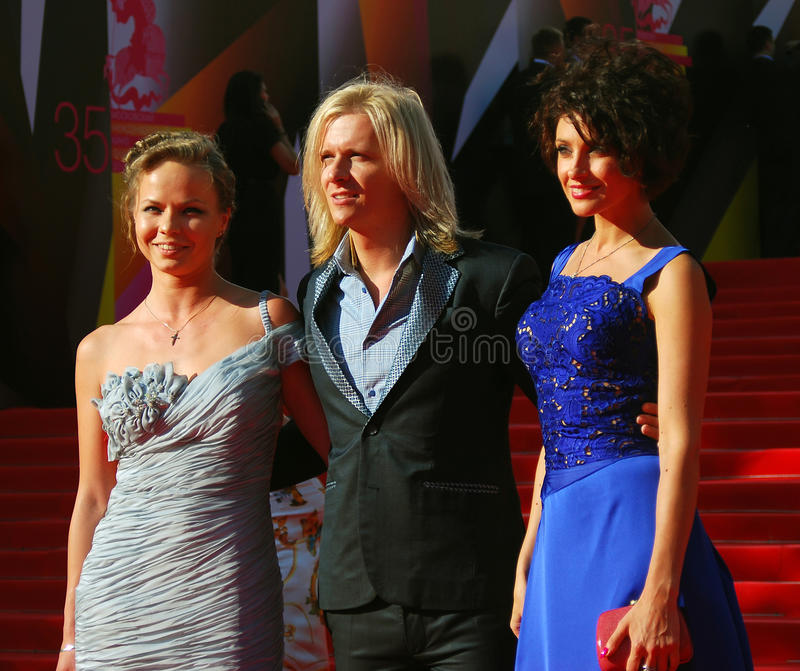 Anastasiya Makeeva at Moscow Film Festival