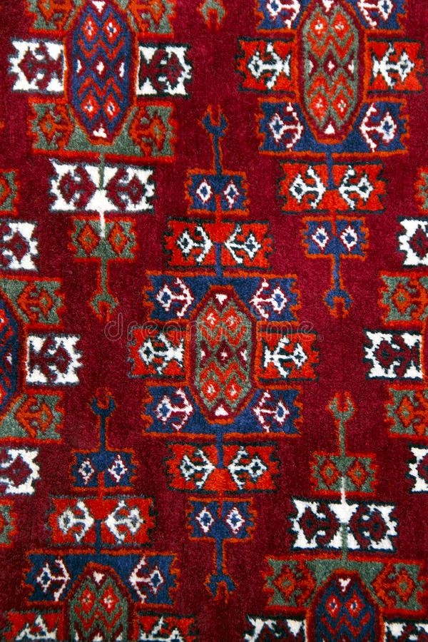 Download Anatolian Handmade Carpet Closer Stock Photo - Image of detail, aged: 16786494