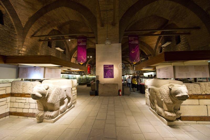 Anatolisches Museum, Reise nach Ankara die Türkei stockbilder