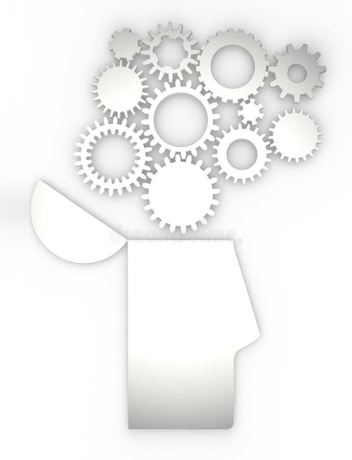 Anatomía Del Cerebro De Las Ideas Del Engranaje Del Cuerpo Humano ...