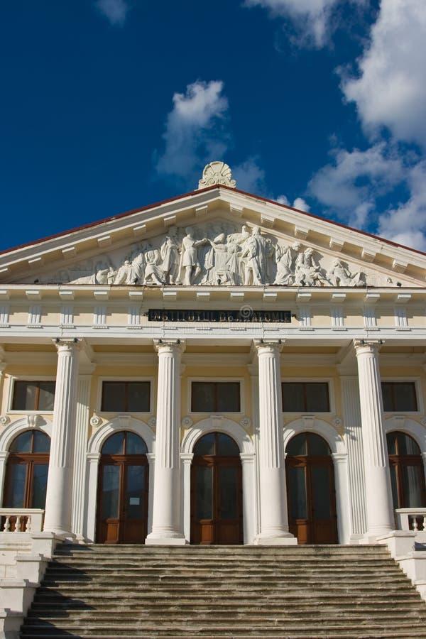 Anatomiinstitut i Iasi royaltyfria foton