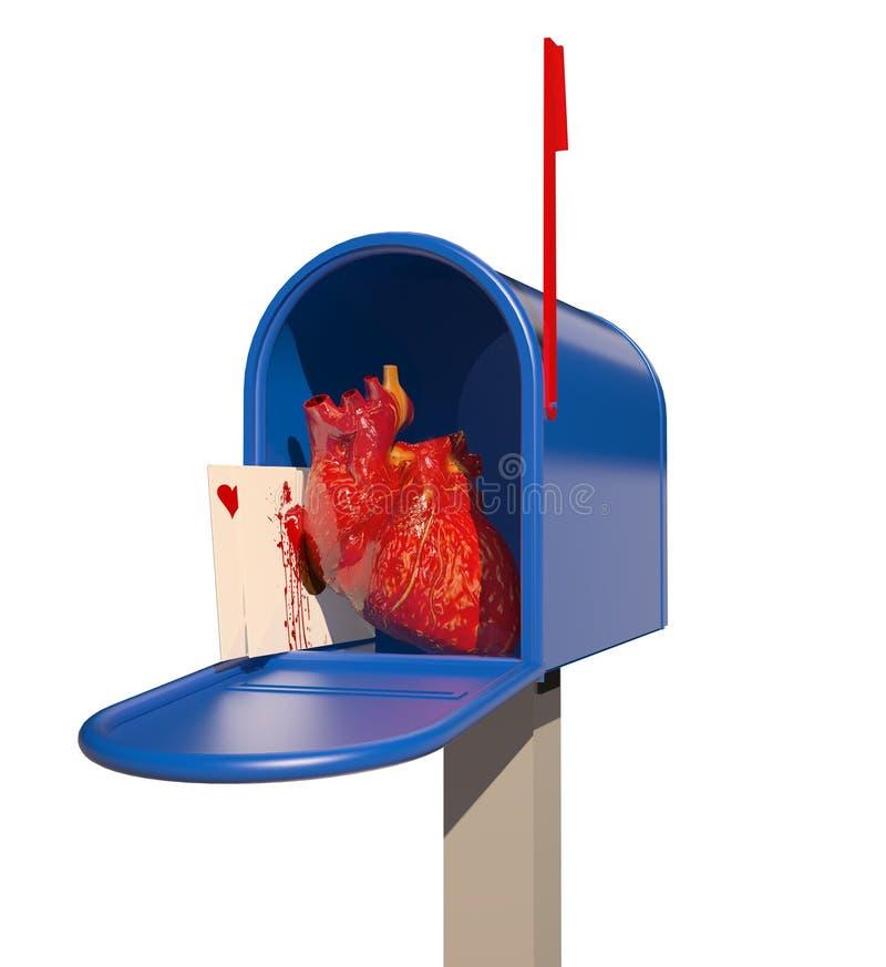 Anatomisch hart royalty-vrije illustratie
